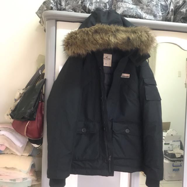 近全新 正品 正貨 正版 hollister a&f af副牌 雪衣 雪衣外套 防風 防撥水 雪地 鋪棉 鋪棉外套
