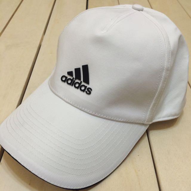 國外帶回 正品 Adidas 老帽 運動帽 壓扣 可調式 男女皆可