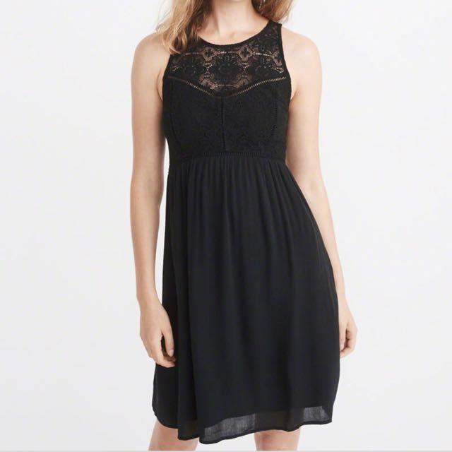 A&F Black Lace Dress