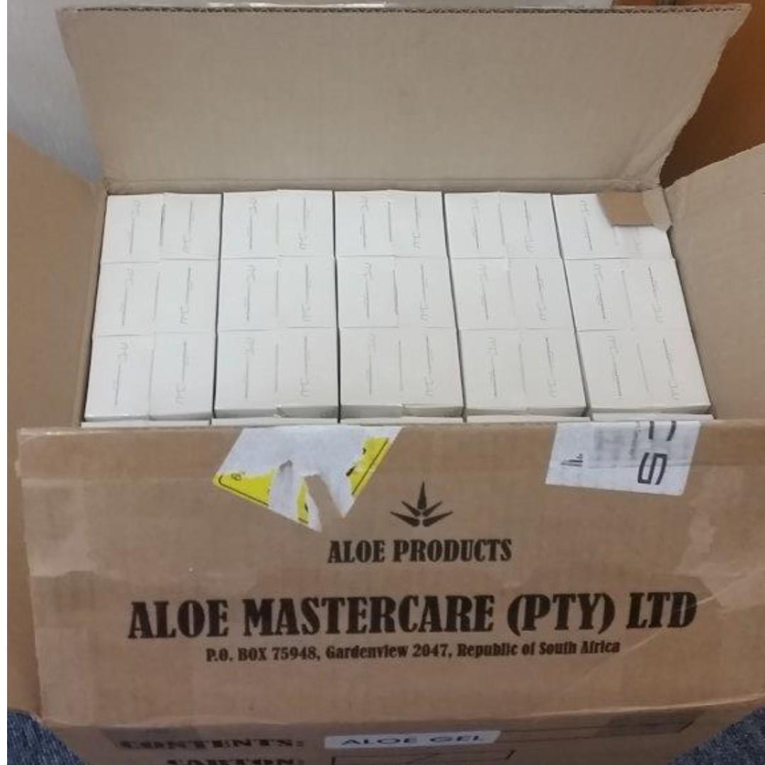 南非蘆薈Aloe Gel Aloemastercare ($78./枝包平郵,買6枝或以上包順豐站拎)