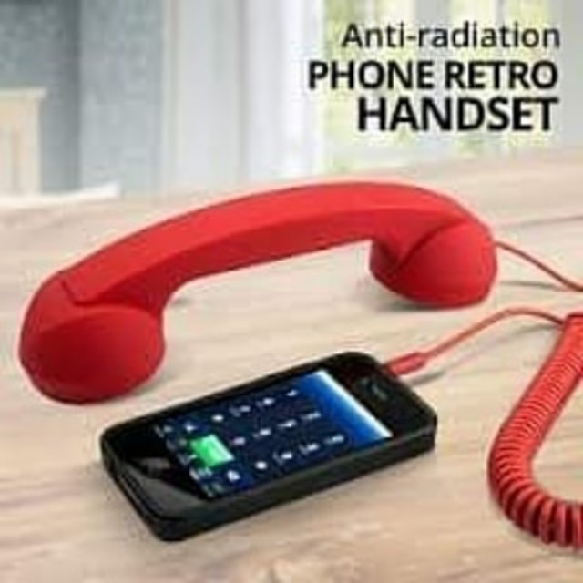 Anti Radiation Retro Handset for Mobile Phones