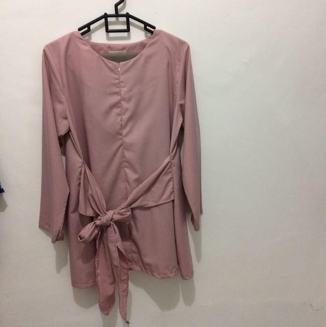 Argadine Blouse Dusty Pink