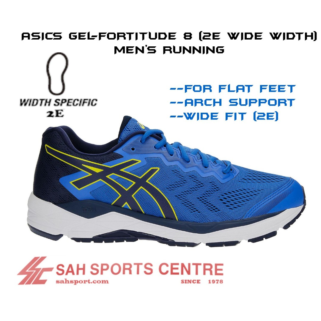 477c4bcb Asics Gel Fortitude 8 (2E Wide Width) Men's Running T817N-4549