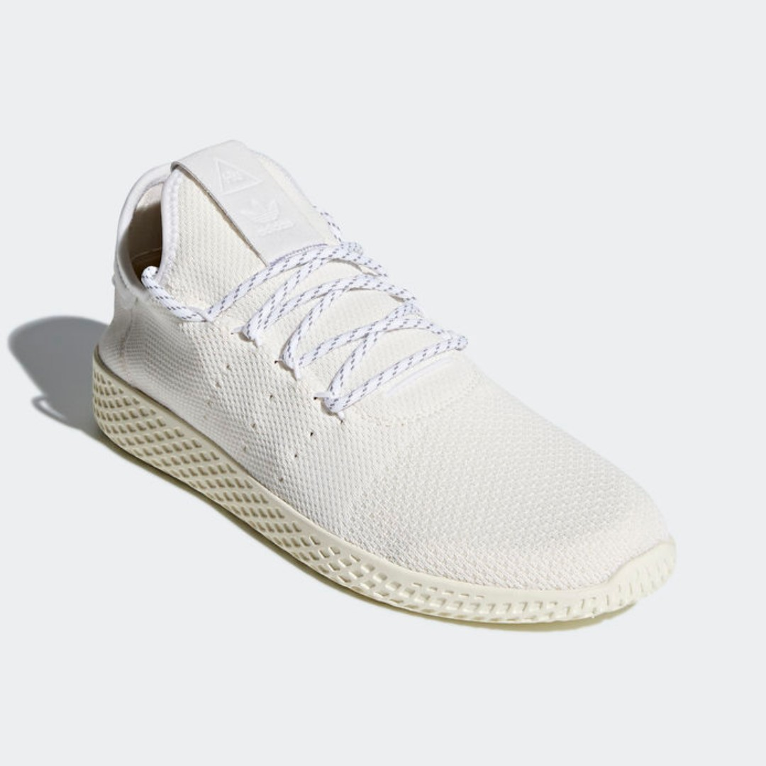 ff5ec0bbe Authentic Adidas PHARRELL WILLIAMS HU HOLI TENNIS HU BC Cream White ...