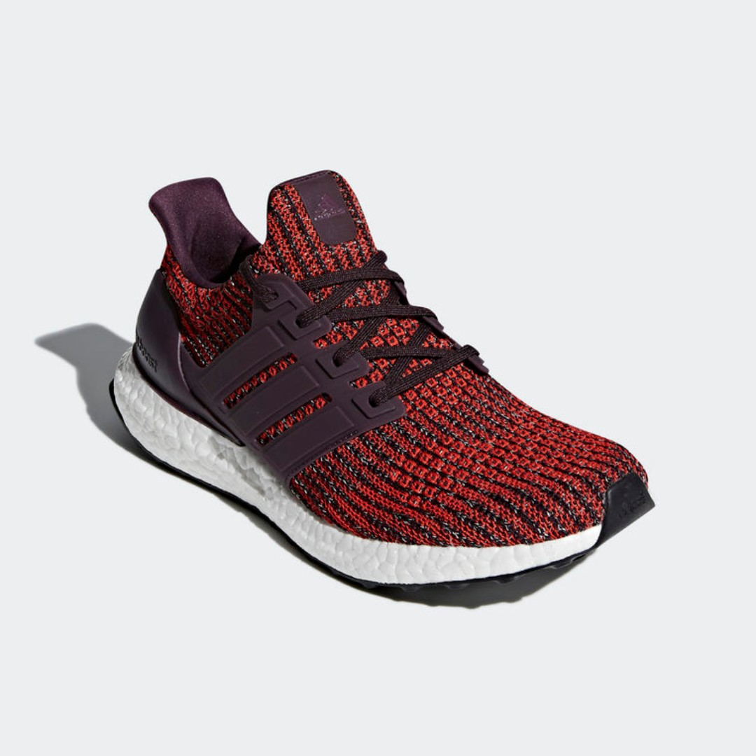 f465b7113 Authentic Adidas Ultraboost 4.0 Noble Red Core Black