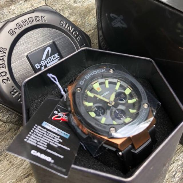 9a9e1ec0909f Authentic Original GST-S120L G-Steel G-Shock Tough Solar Rose Gold Series!  Casio Sale Offer Brand New Full Box! Limited Stock First Come First Served  😎👍 ...
