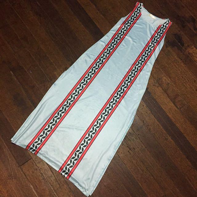 Aztec long dress