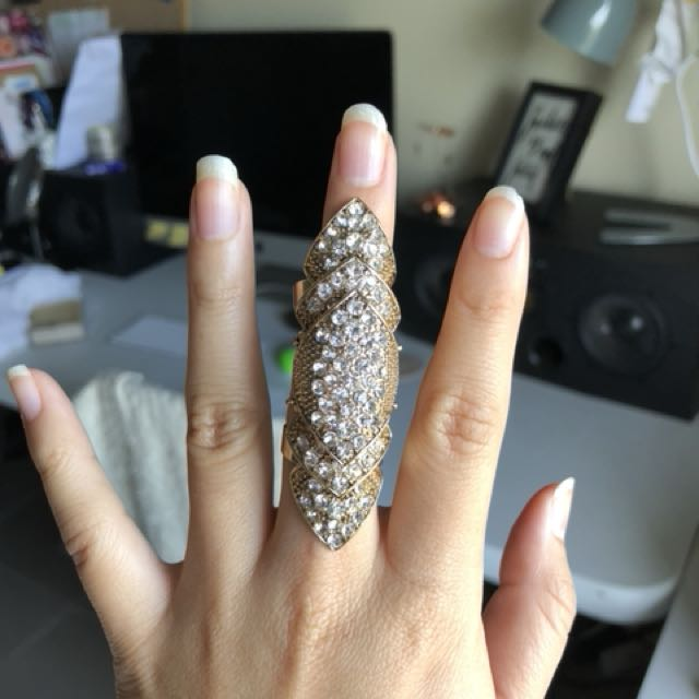 Beautiful Finger Statement Ring