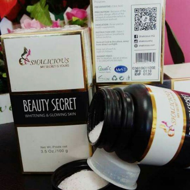 Image result for BEAUTY SECRET SHALICIOUS new packaging