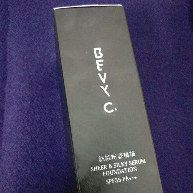 Bevy c.絲絨粉底精華