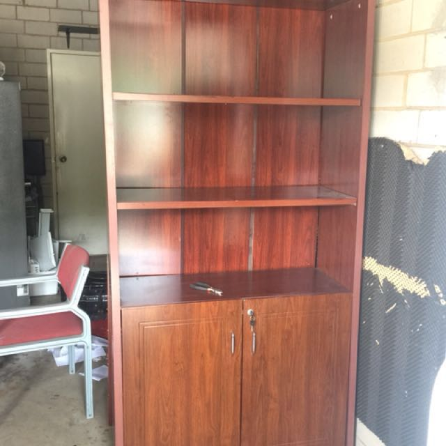 Book shelves + 2 drawers