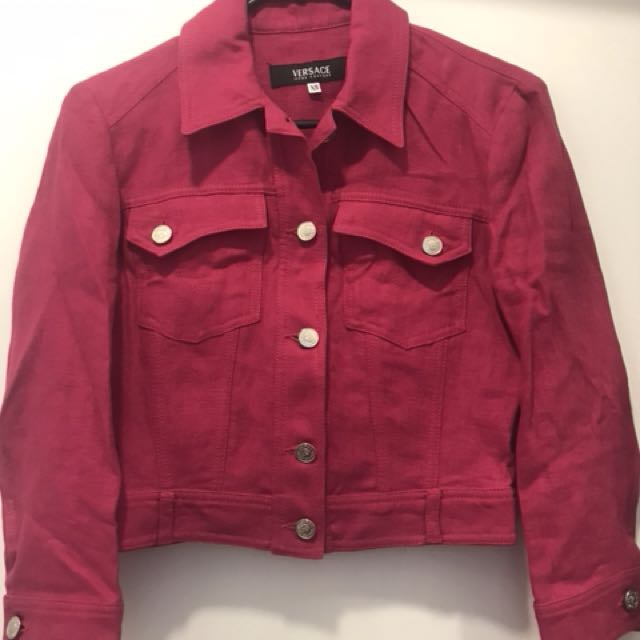 Brand New Versace Jeans Couture Jacket Women's Size XS