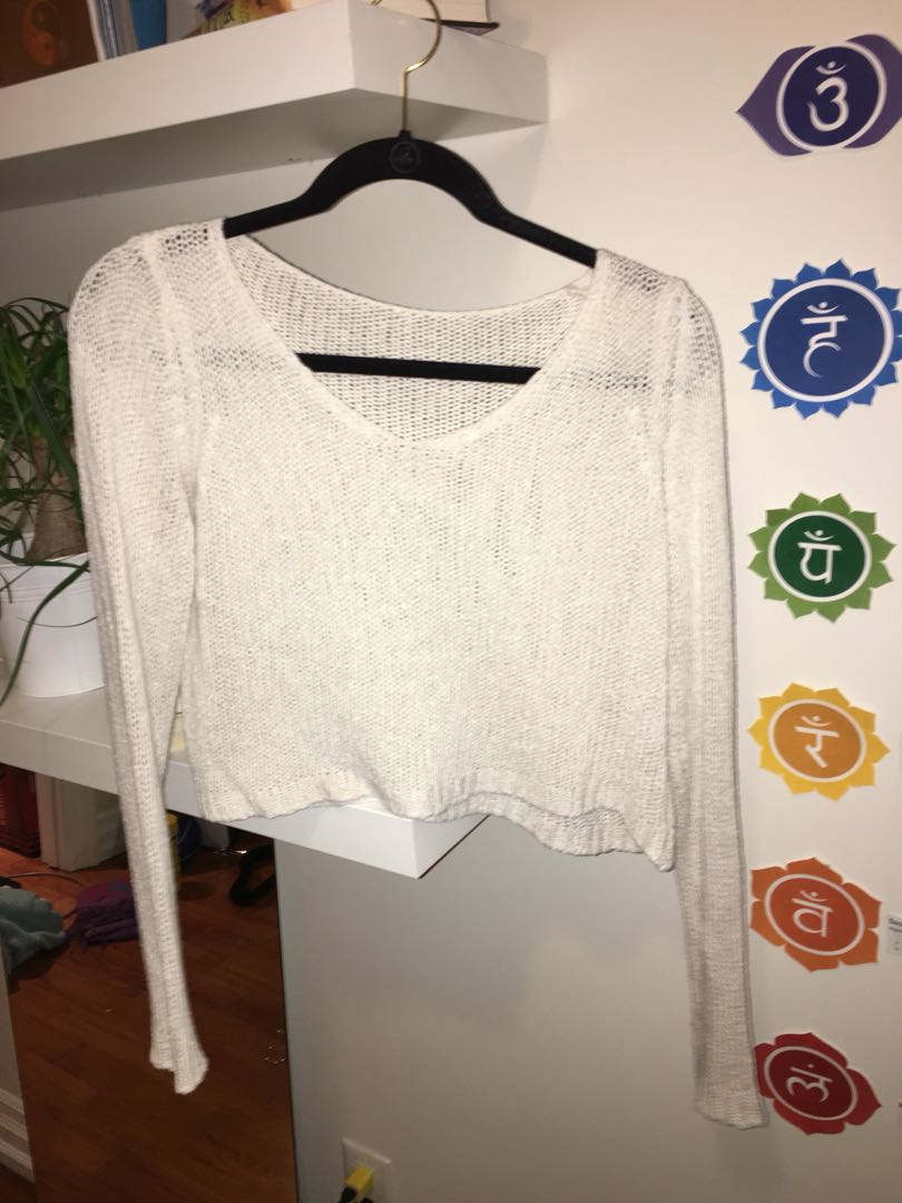 Brandy cropped sweater