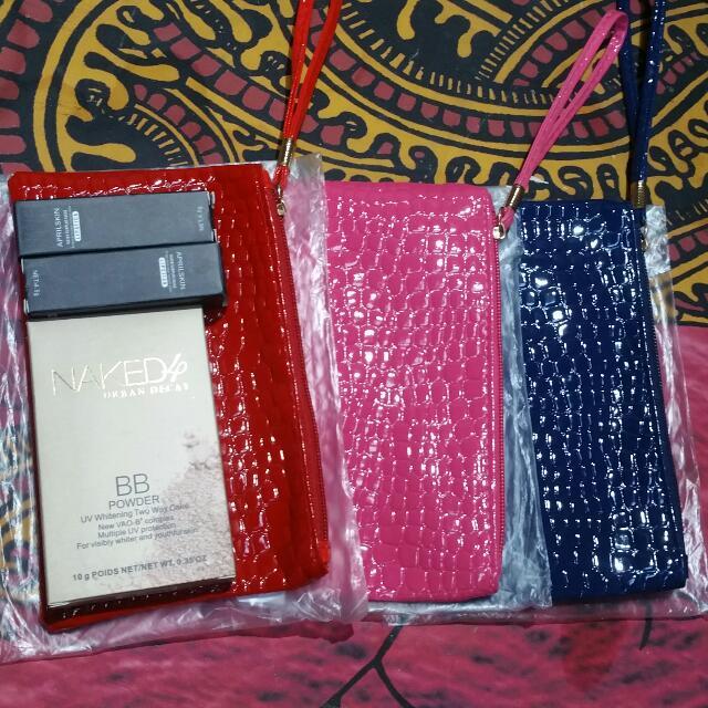 bundle of 3 kikay pouches