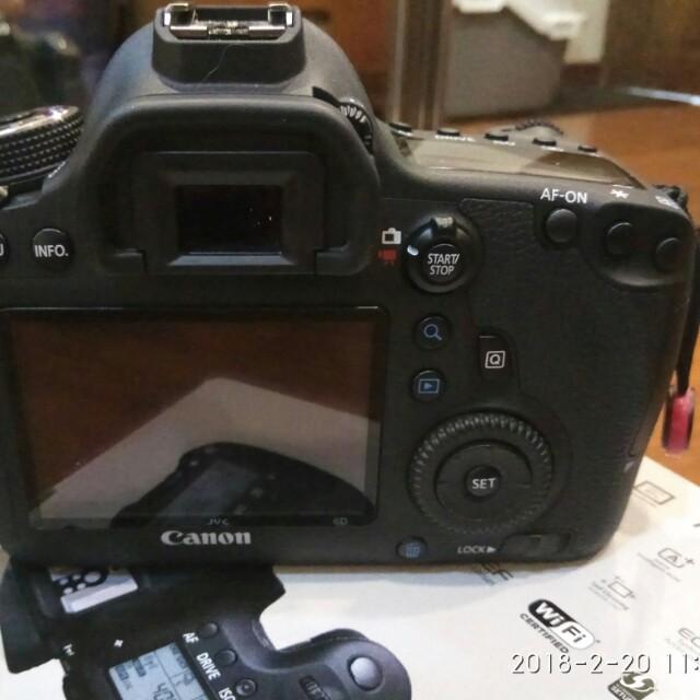 Canon 6D Full frame DSLR WiFi GPS