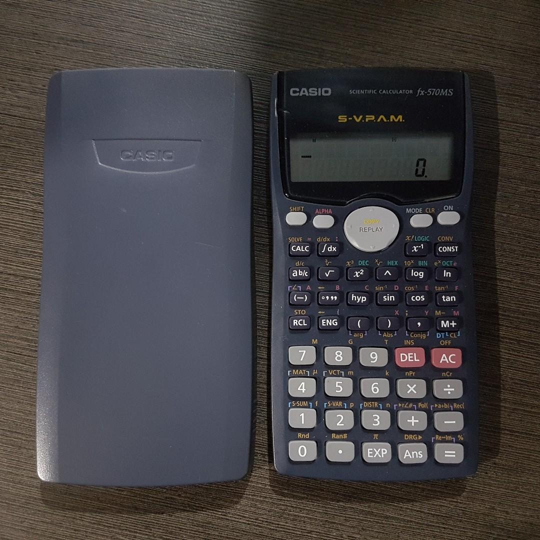 716c27f58a93 Casio Scientific Calculator fx-570MS