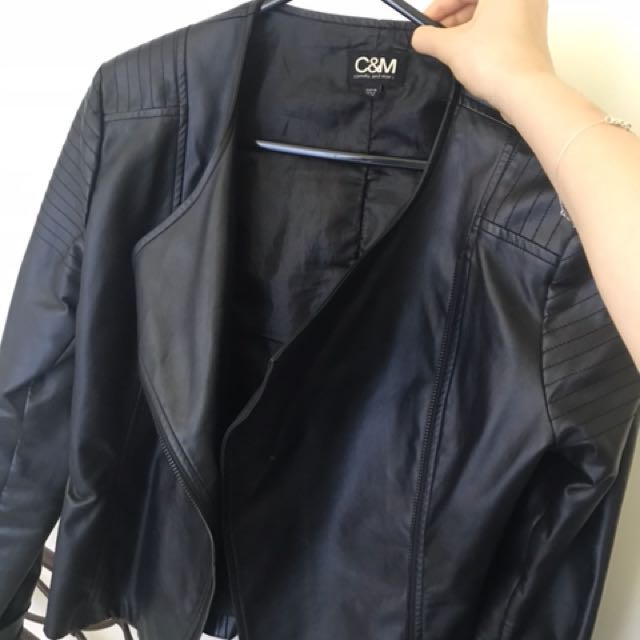 C&M leather Jacket