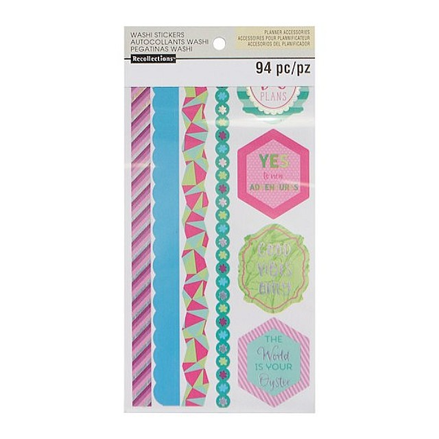 Cool & Warm Washi Sticker Book by Recollections