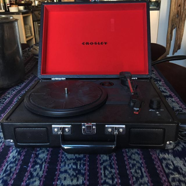 Crosley Portable Turntable  (good condition, used only once) normally  $120 , willing to negotiate