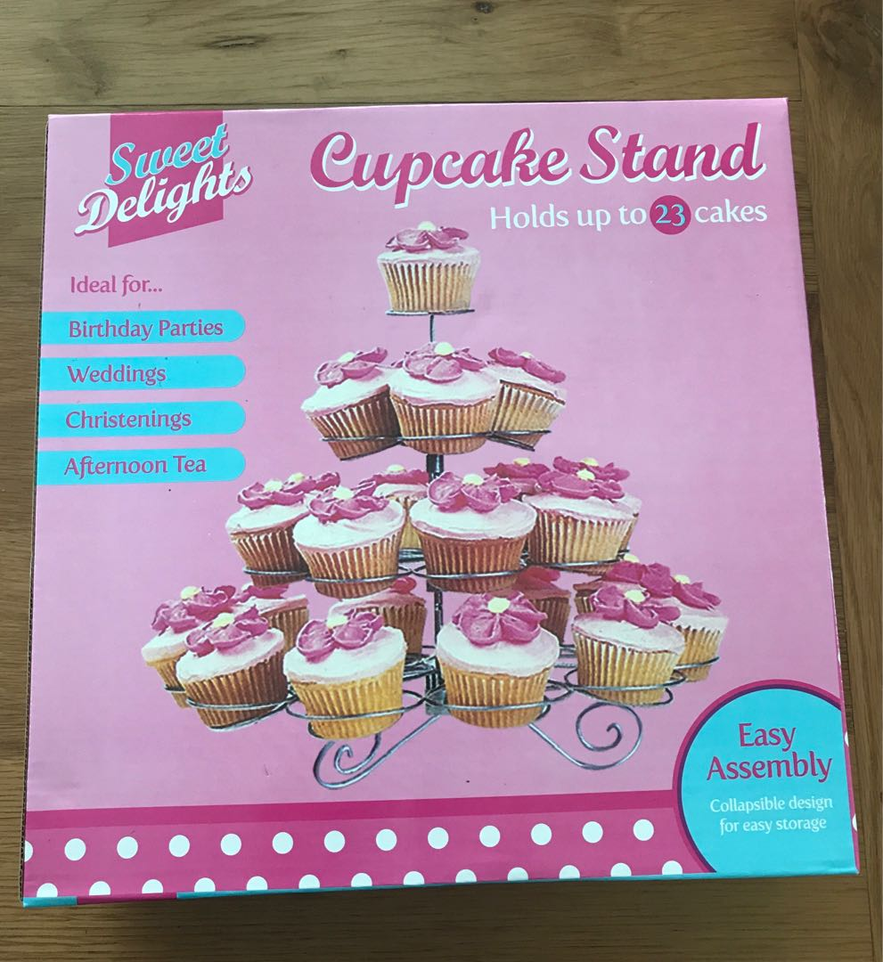 Cupcake Stand 23 Cakes 4 Tier Kitchen Appliances On Carousell Cake