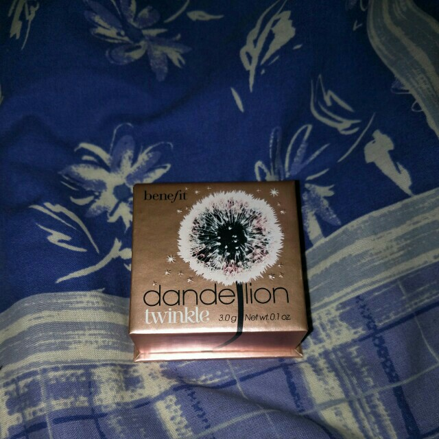 Dandelion twinkle highlighter