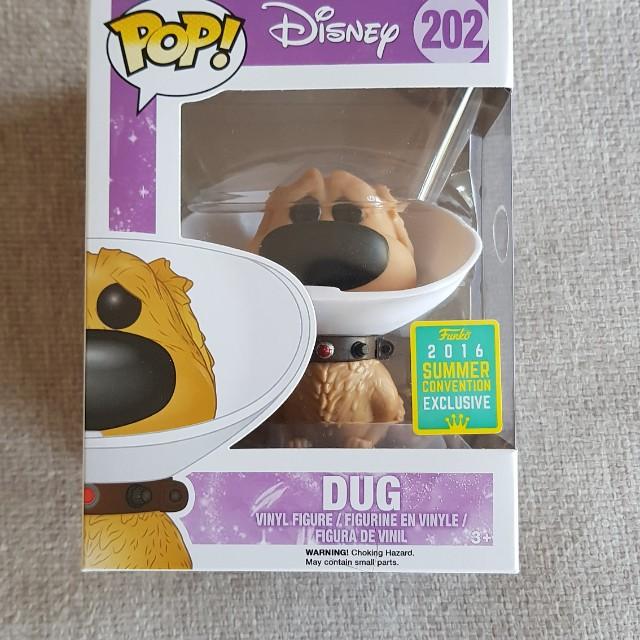 Disney Dug (cone of shame)funko pop vinyl
