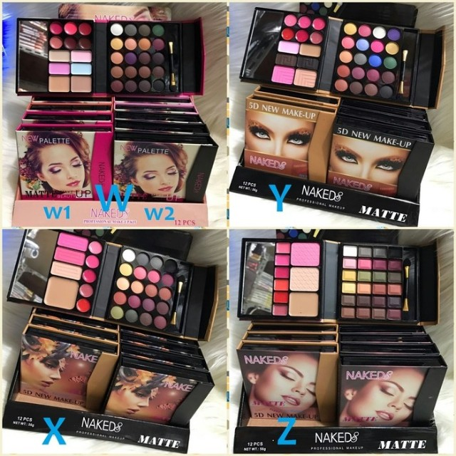 Dompet Make Up Kit/ Eyeshadow/ Blush On