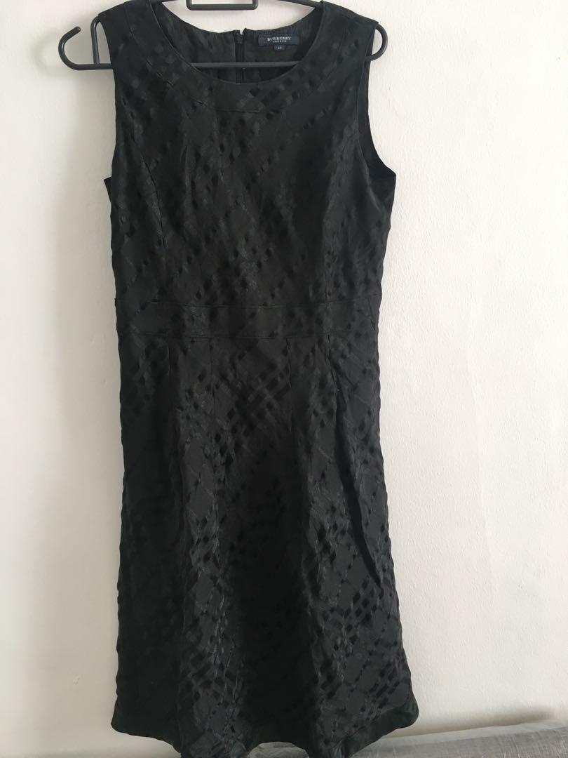 Dress gaun panjang maxi hitam size M ukuran burberry sexy wanita perempuan tanpa lengan zara guess stradivarius uniqlo