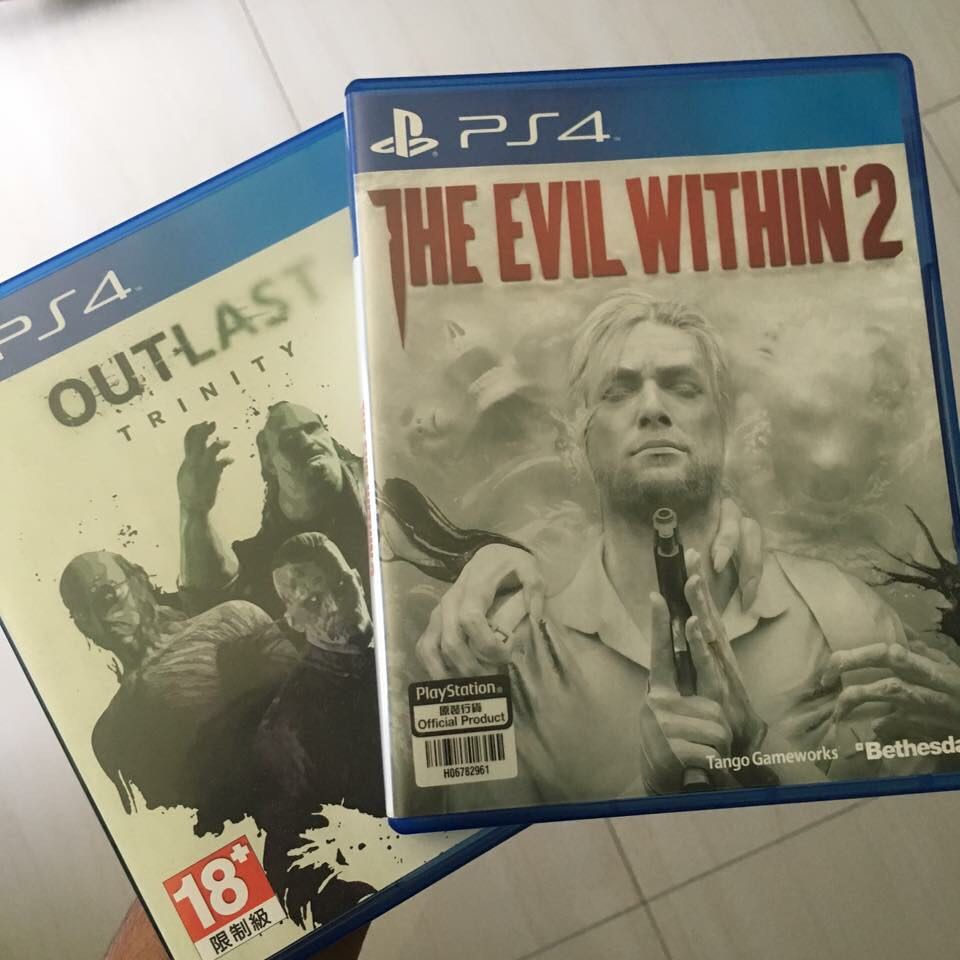 EVIL WITHIN 2 and OUTLAST TRINITY