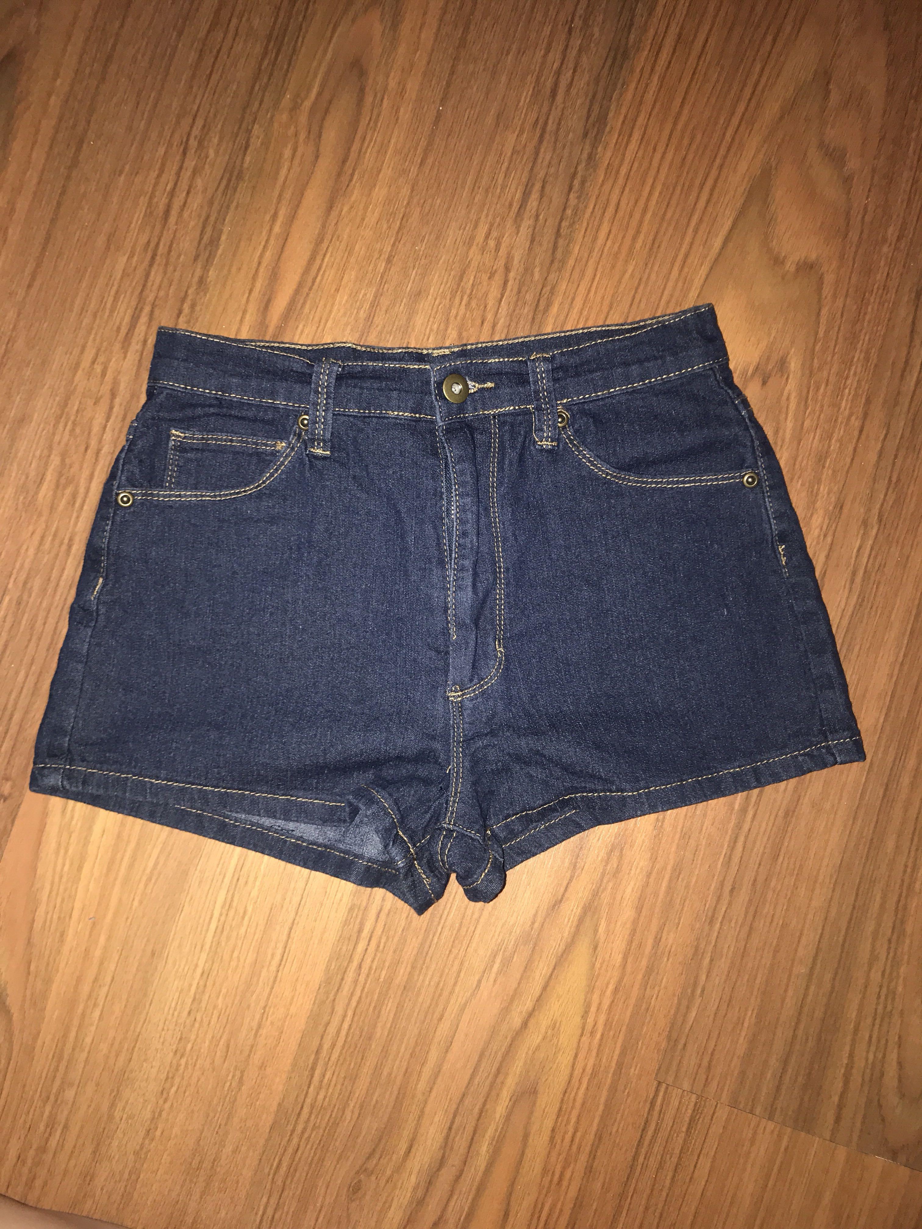 F21 high waist jeans denim