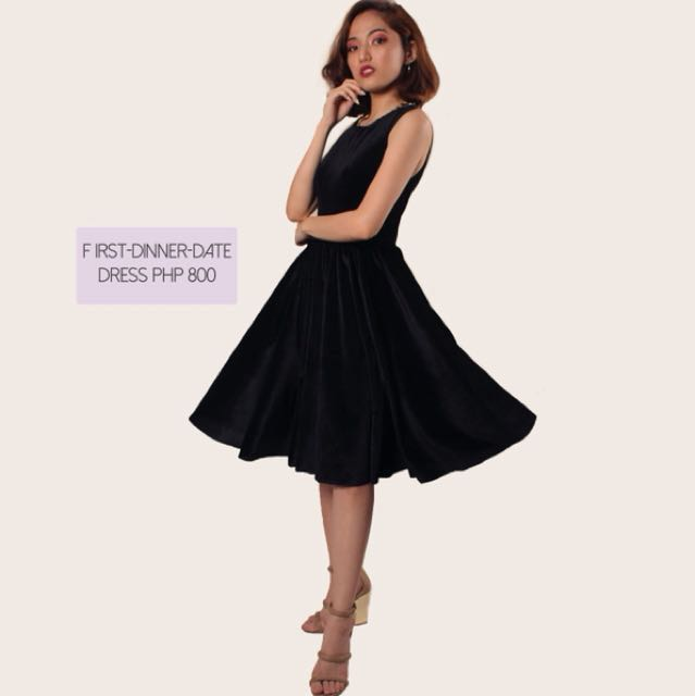 First Dinner Date Dress Women S Fashion Clothes Dresses Skirts On Carou