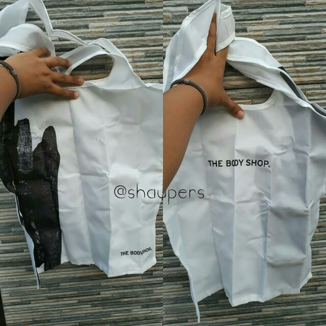 Foldable Tote Bag The Body Shop