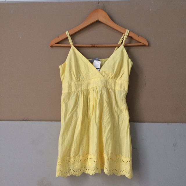 FOREVER21 Yellow Top