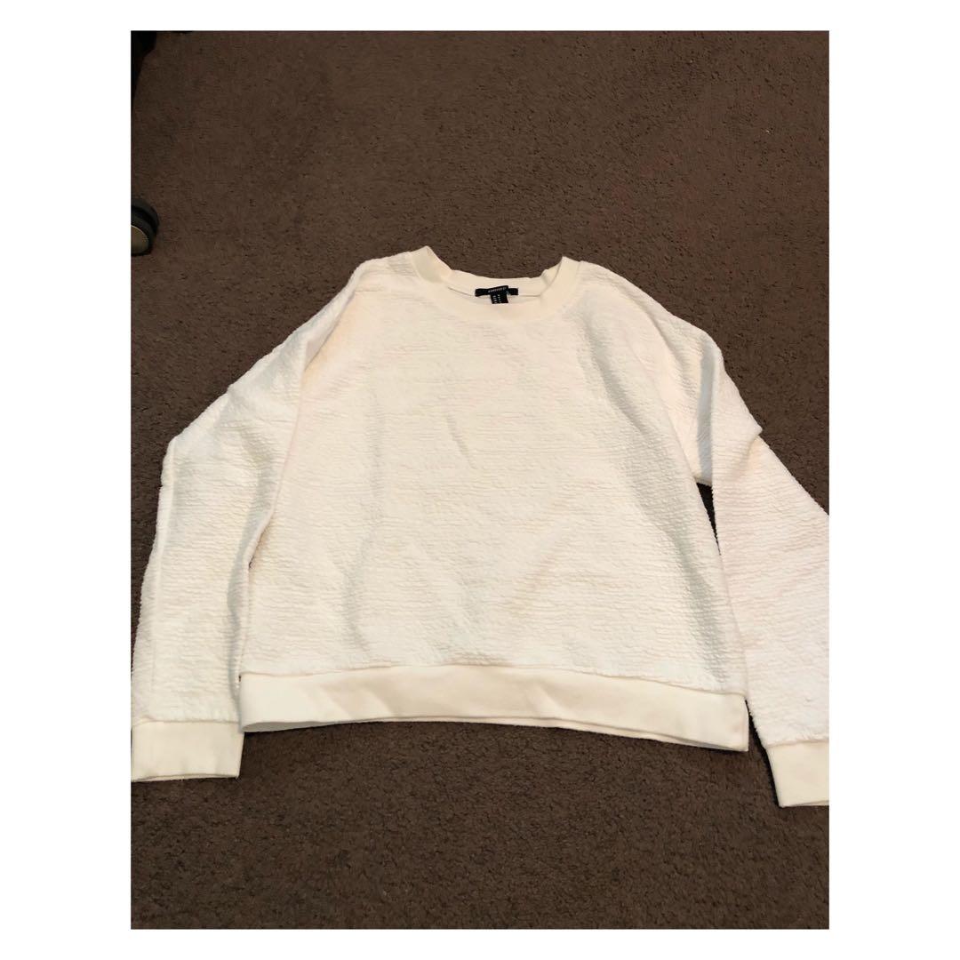 Forever 21 White Sweater