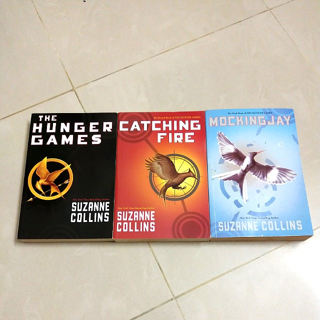 (Free Post) The Hunger Games Trilogy Collection Books/ Novel