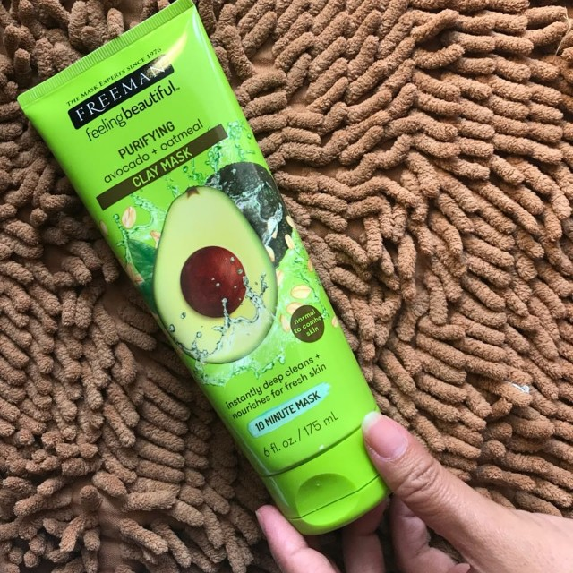 FREEMAN PURIFYING AVOCADO + OATMEAL CLAY MASK 175ML