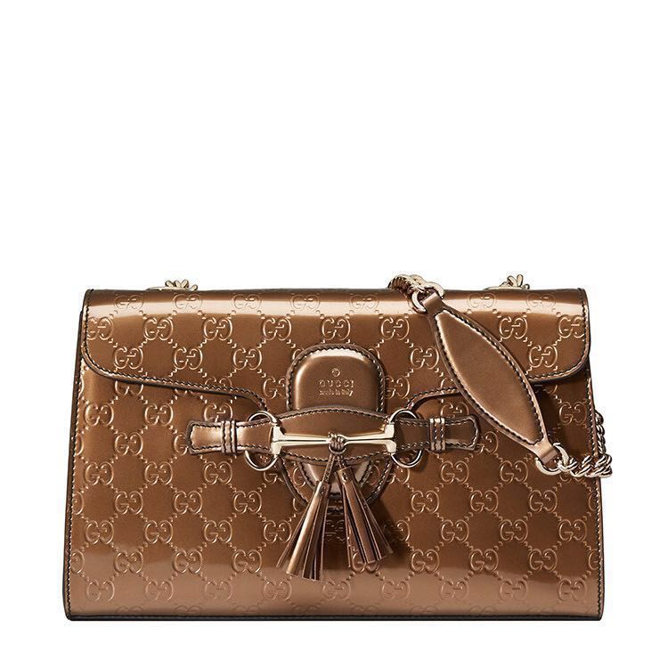7a2b70bae8291a Gucci Emily guccisima leather shoulder bag brand new!, Women's ...