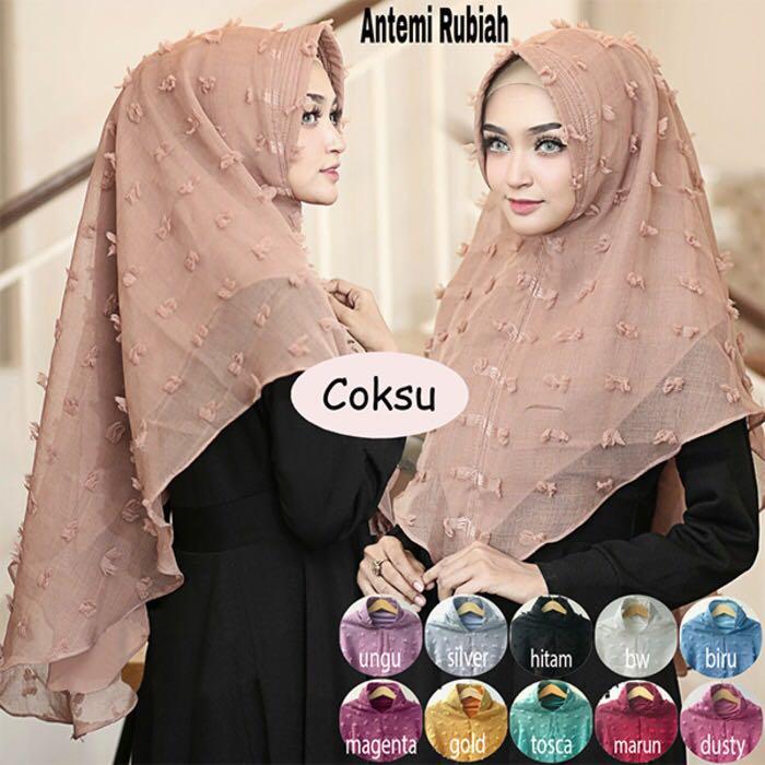 Hijab/Jilbab Antemi Rubiah