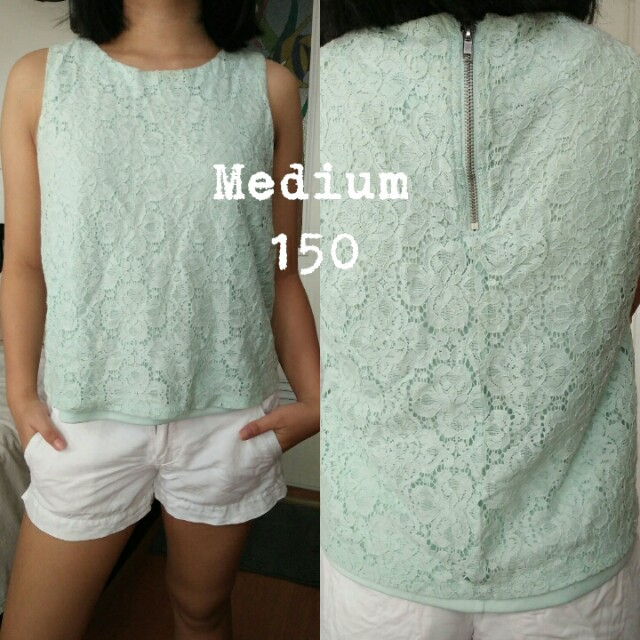 H&M Minty top