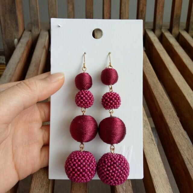 H&M Purple Earrings