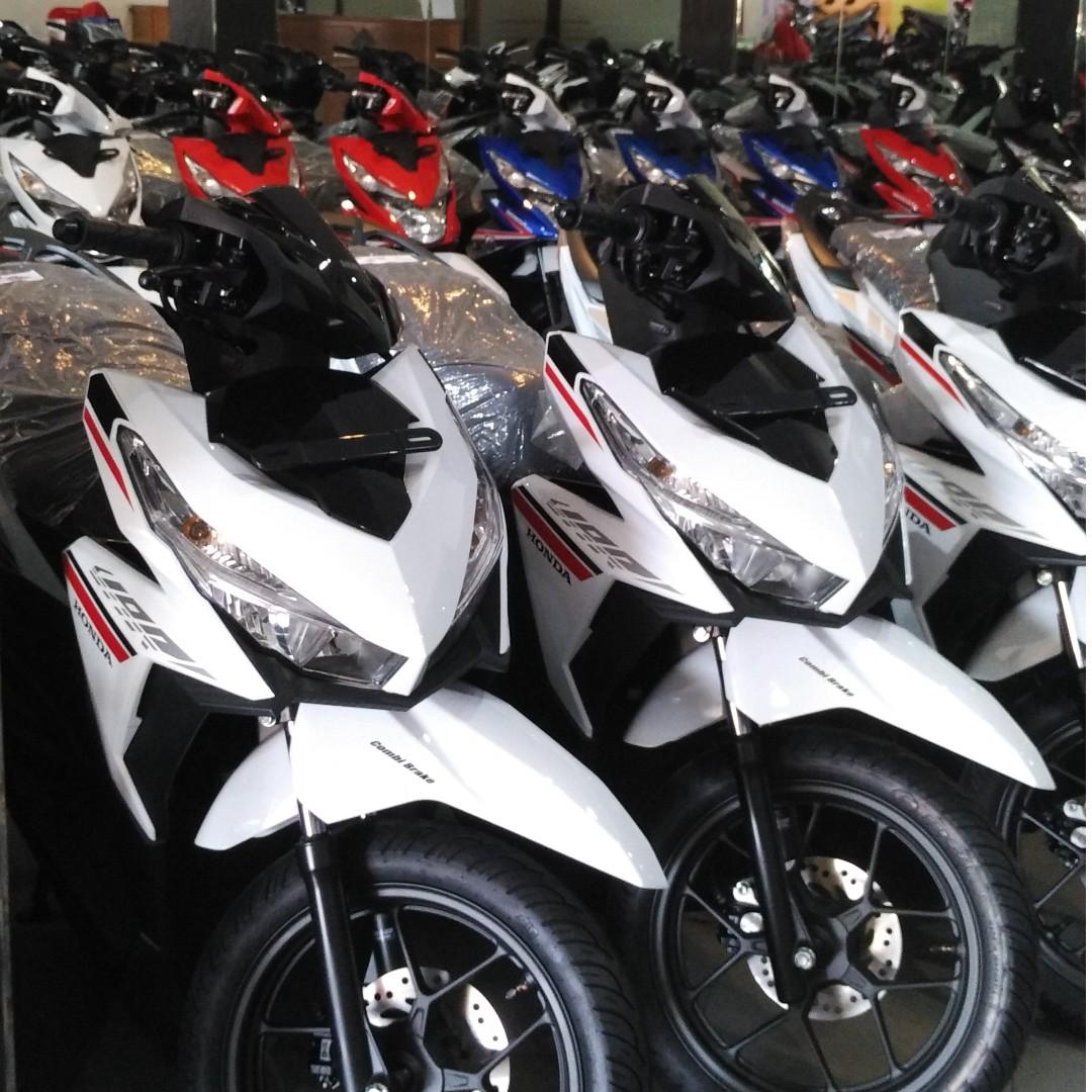 Honda New Vario 110 Esp Cbs Advance Matte Grey Otr Jawa Barat Iss Grande White Depok 125 Motor