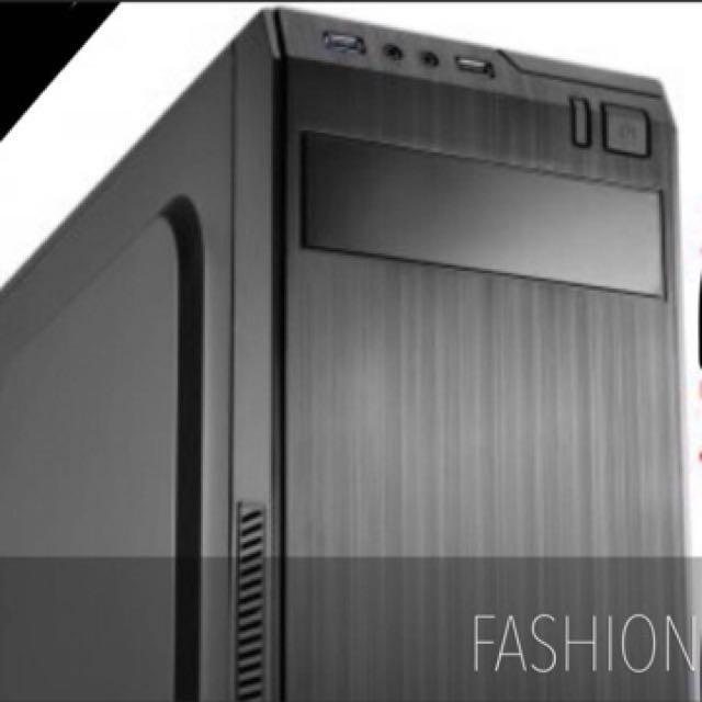 I7效能 GTX1050 電競桌機