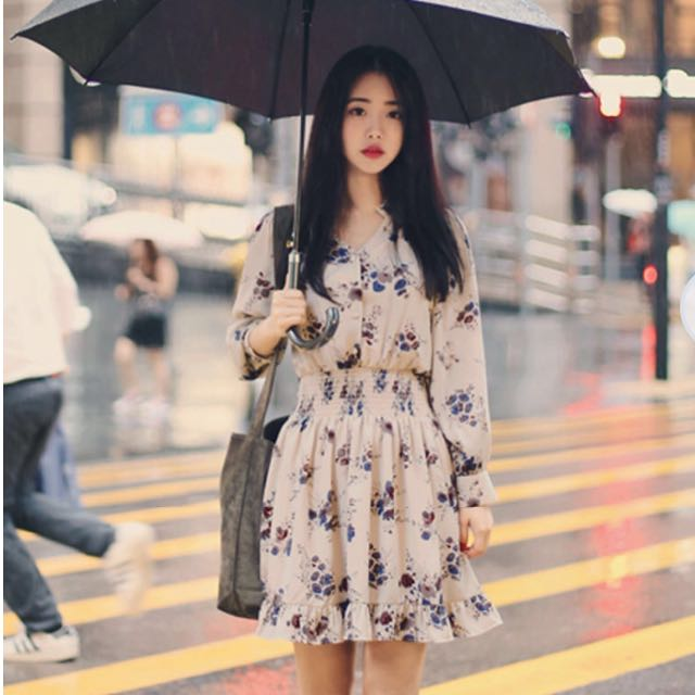(Instock) Yesstyle floral dress