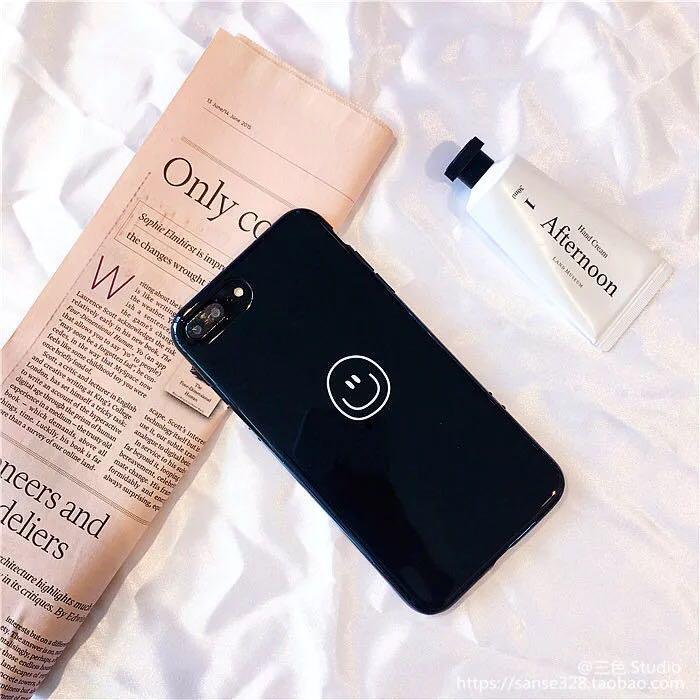 iPhone7 plus smile face phone case