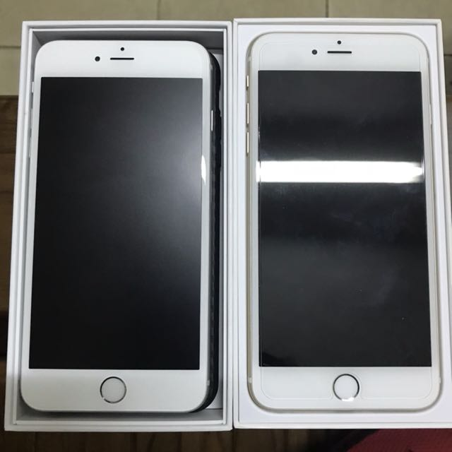 iPhone 6 plus 16gb 5.5 gold silver