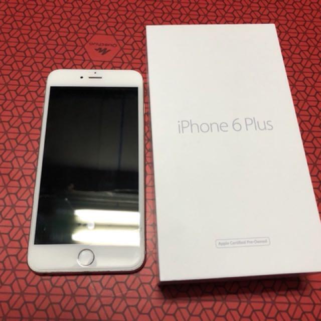 iPhone 6 plus 白色