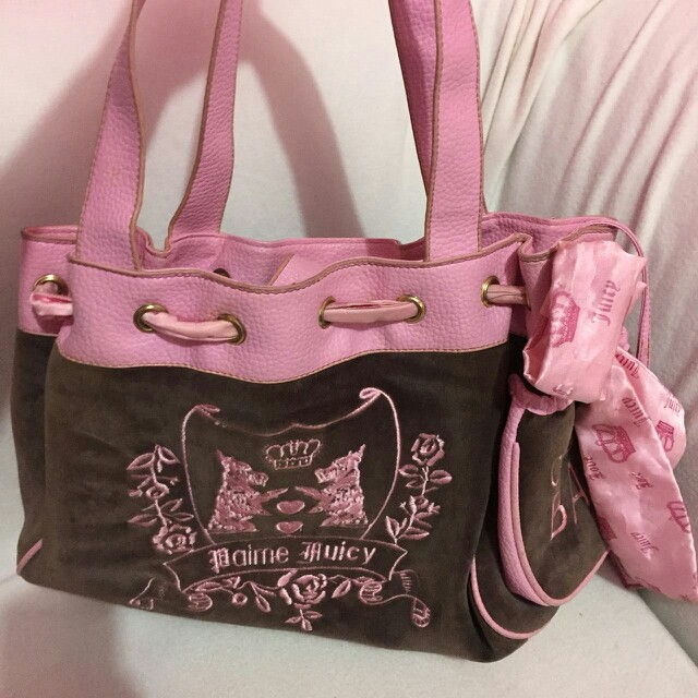 Juicy pink bag