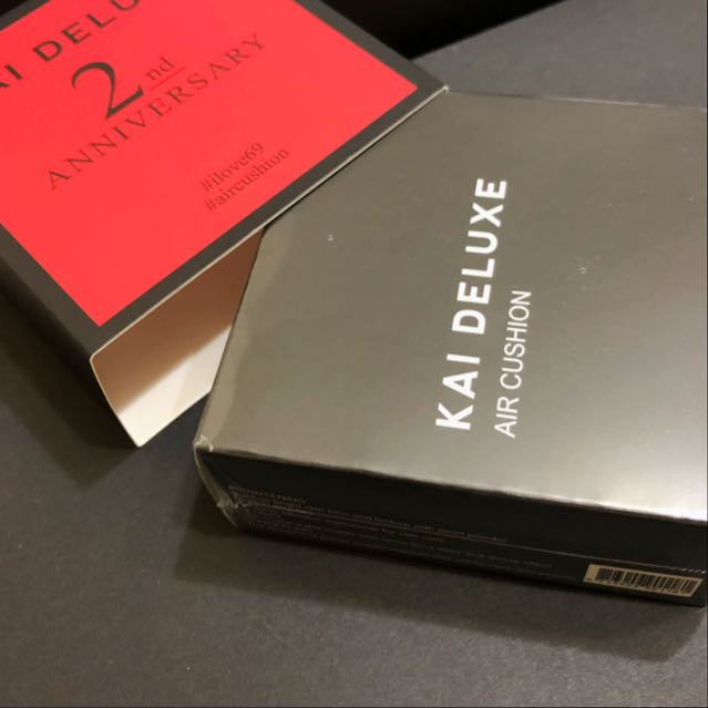 Kai Deluxe型色大師光采氣墊粉餅,色號-白皙