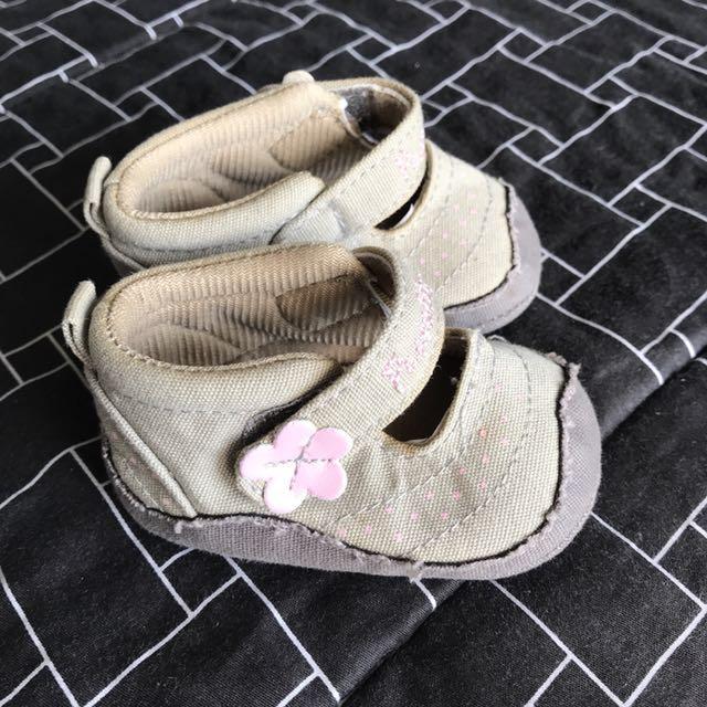 Khaki Pram Shoes