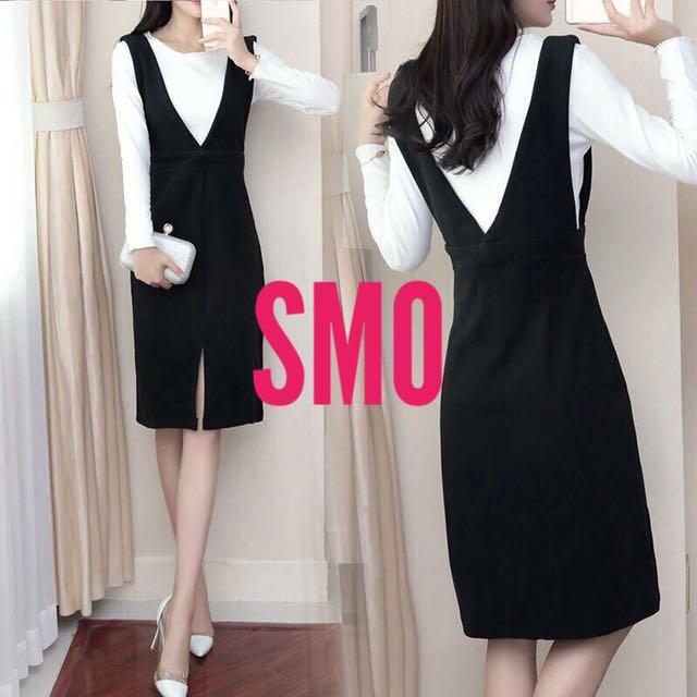 KOREAN 2 in 1 DRESS
